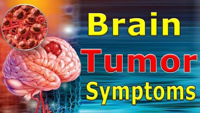 Symptoms of brain cancer1