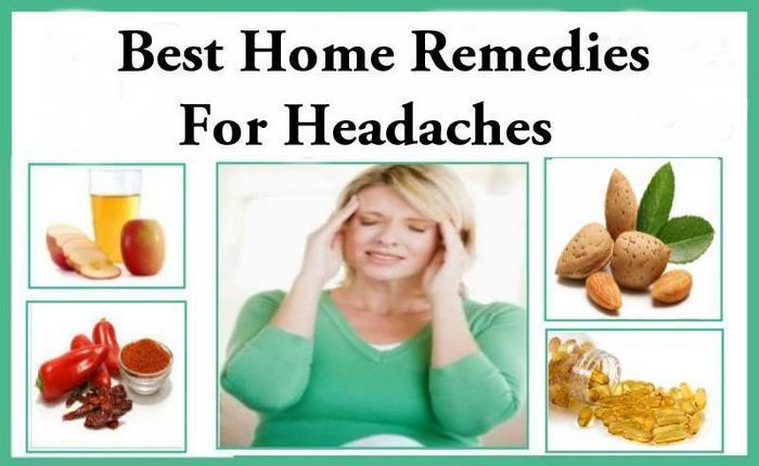 home remedies for headache