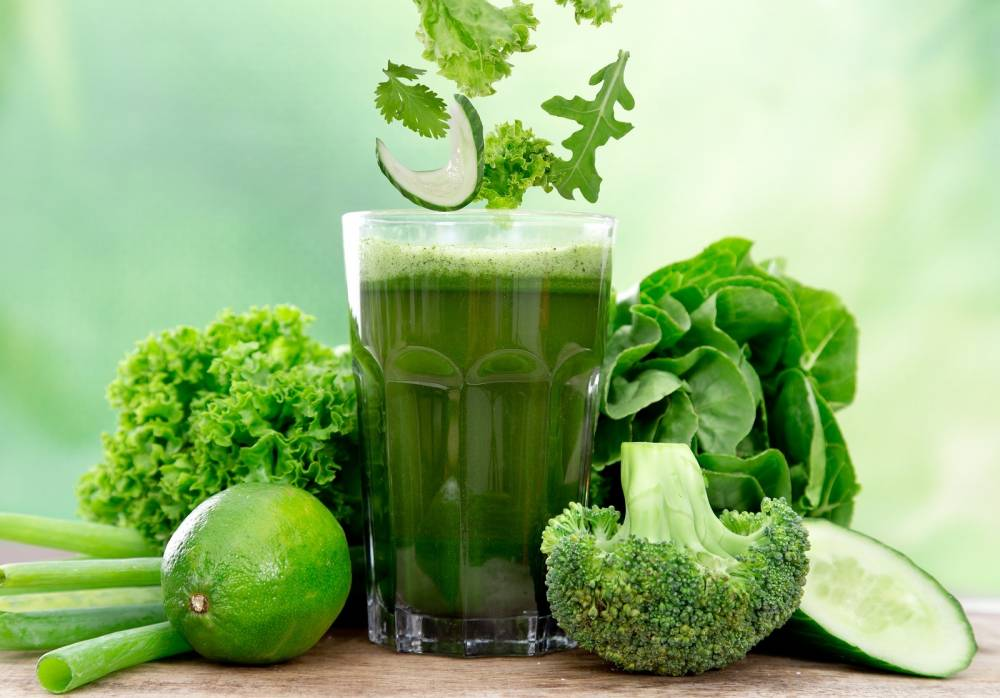 Home remedy for thyroid storm Green juices