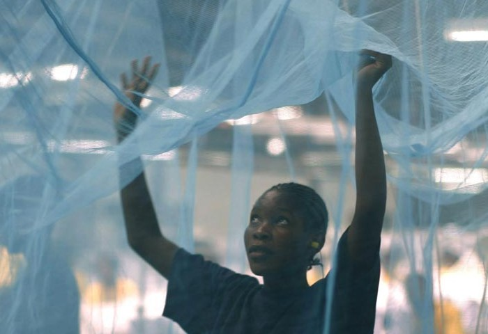 Malaria prevention mosquito net