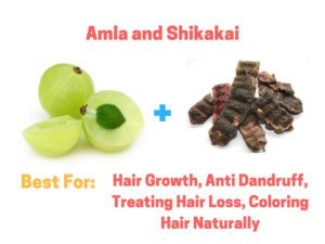 Amla and Shikakai for Hair