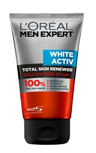 L'Oréal Paris Men Expert White Activ Volcano Red Foam Face Wash