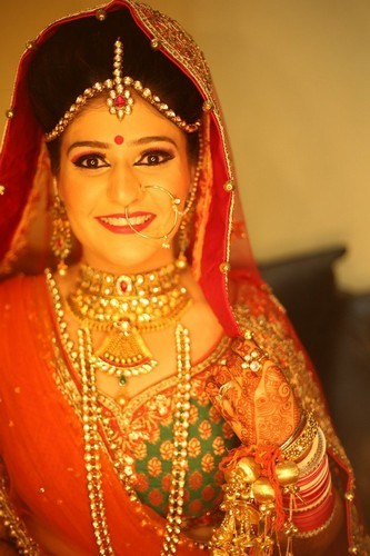 Makeup-Ideas-for-Indian-Bridal-Beauty-Punjabi-Bride