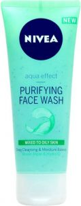 Nivea Aqua Effect Purifying Face Wash for Oily Skin