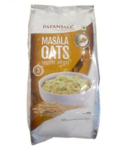 Patanjali products for weight loss-masala oats