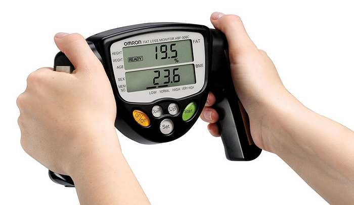 calculate percentage of weight loss-bioelectric impedence