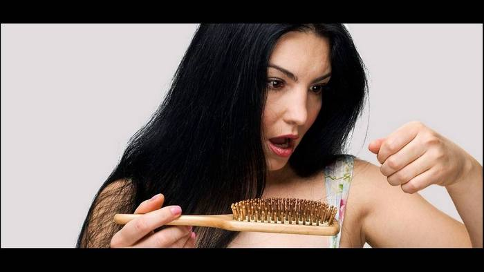 hair loss can be a symptom of hypothyroidism in females with low iodine and thus it need to be treated in time