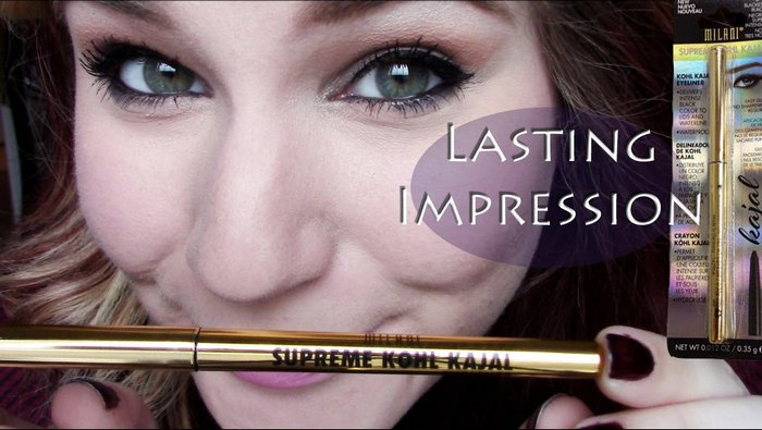 long lasting kajal for waterline