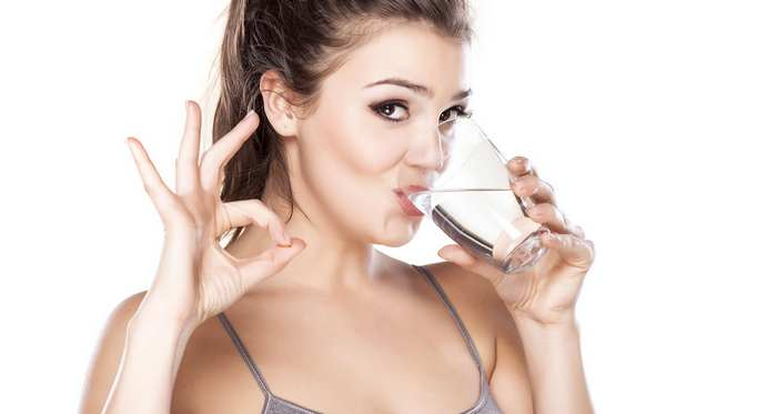 tighten loose skin after weight loss-consumption of water