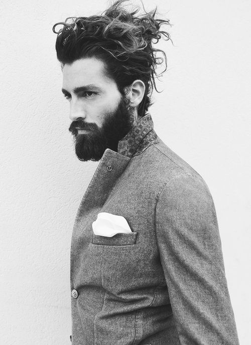 Curly Man Bun - Stylish Curly Hairstyles For Indian Men