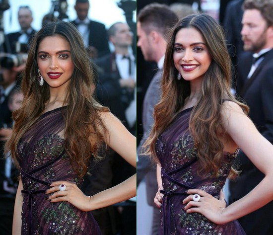 Deepika Padukone - Best Female Celebrity Hairstyles 2017