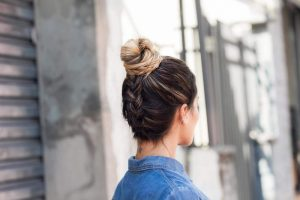 Inverted French Braid Bun - An Urbane Women's Hairstyle