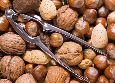 Nuts - Almonds and Walnuts - Food For Healthy Hair