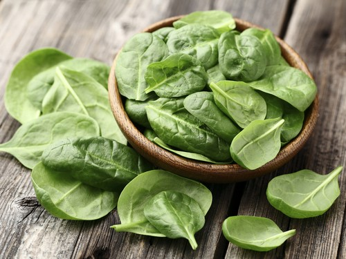 Spinach - Food For Hair Growth