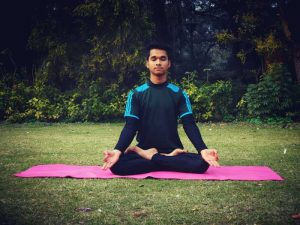 Yoga for Beginners-Padmasana