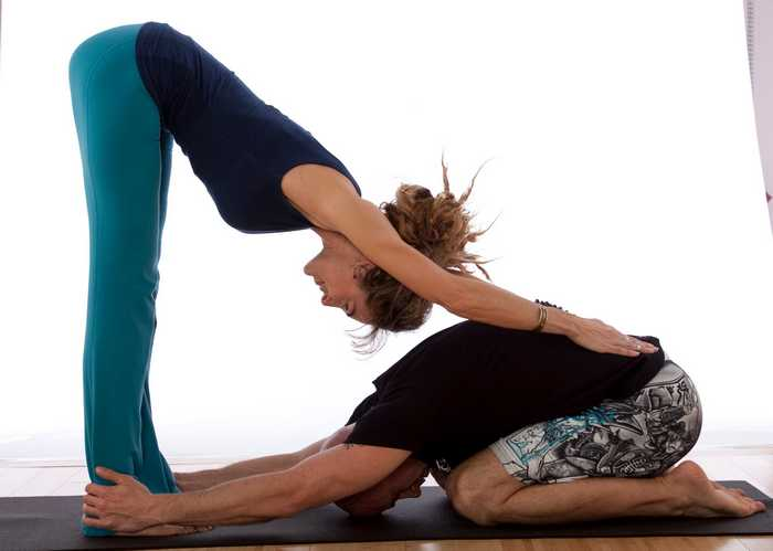Yoga for Beginners-Couple Yoga Poses