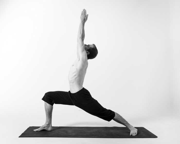Yoga for Beginners-Virbhadrasana 1