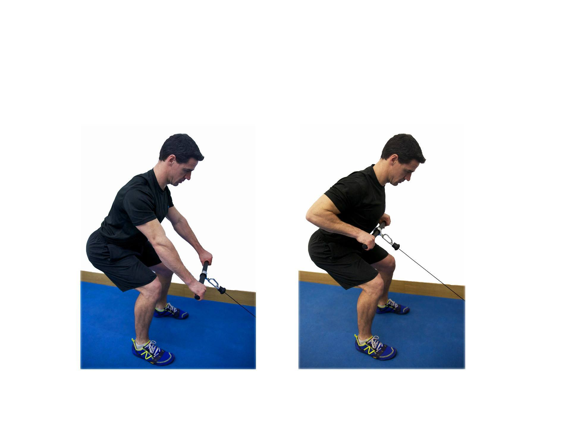 Bend over row exercises for lower back pain