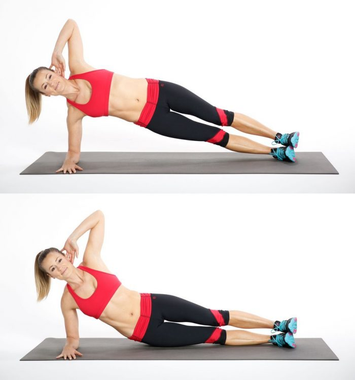 exercises for lower back pain side bridge