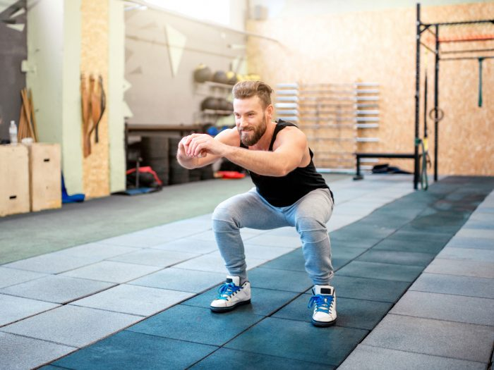 squat exercises for lower back pain