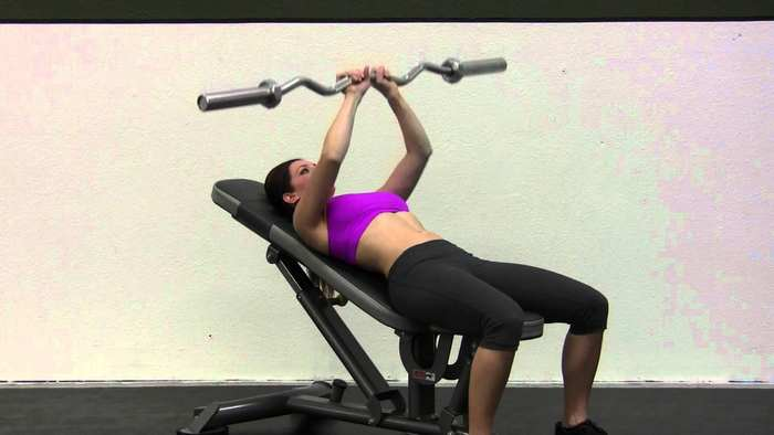 how to lose weight fast for women-close grip bench press