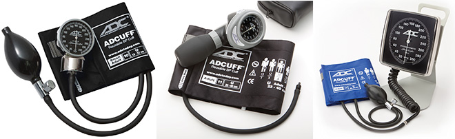Aneroid-Sphygmomanometers - Manual Types Of Blood Pressure Monitors