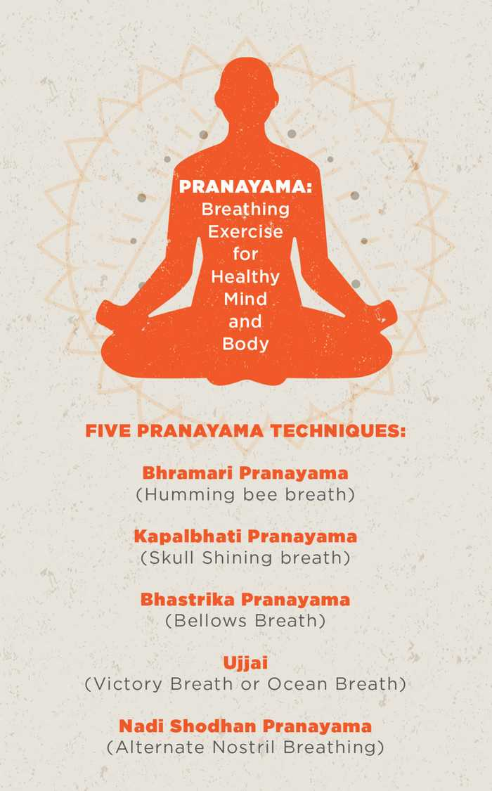 deep Breathing Exercises for Stress-Pranayama Techniques