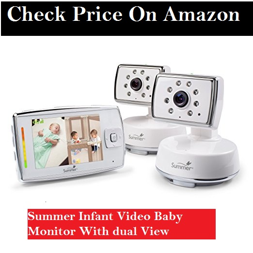 SUMMER INFANT DUAL VIEW WIFI MONITOR
