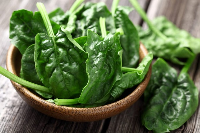 Spinach - Foods That Lower BLood Pressure - For Vegetarians