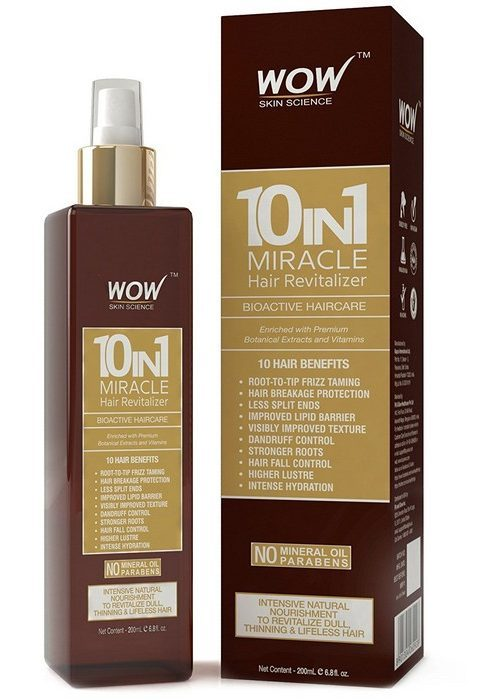 Wow 10 in 1 Miracle Hair Revitalizer - Hair Oil For Hair Growth And Dandruff