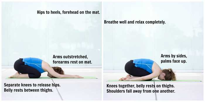 Yoga for Blood Pressure-Balasana