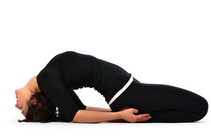 Yoga for Blood Pressure-Matsyasana