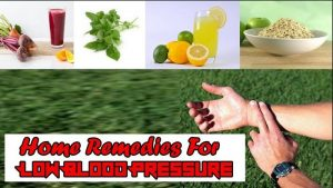 home remedies for hypotension