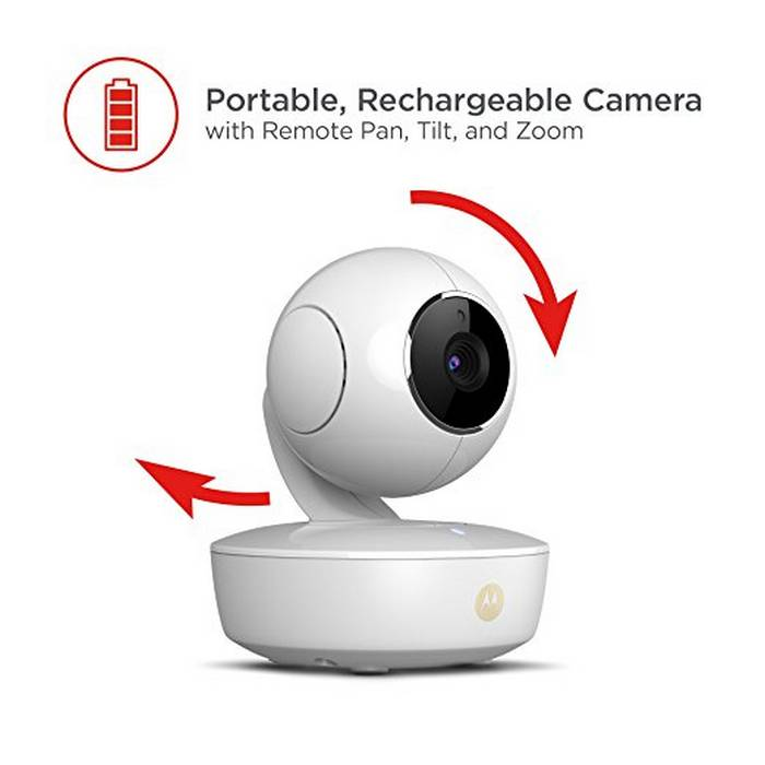 motorola MBP36XL-portable recharable camera