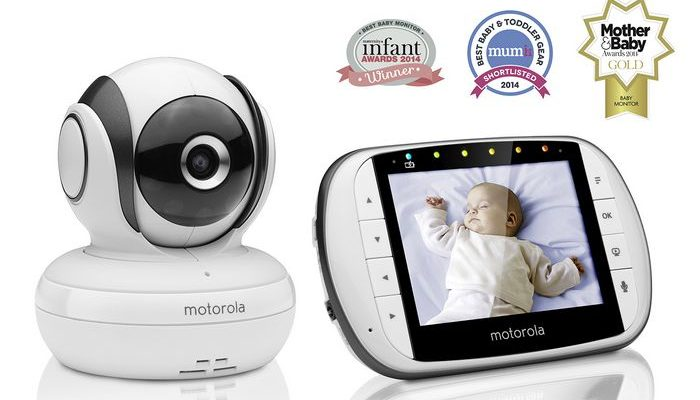 motorola mbp36s video baby monitor-features