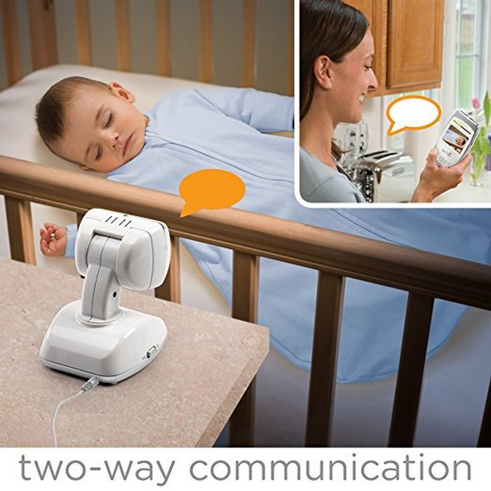 summer baby monitor-Summer Infant Baby Secure 2.5PanZoomScan Video Baby Monitor-two-way alk