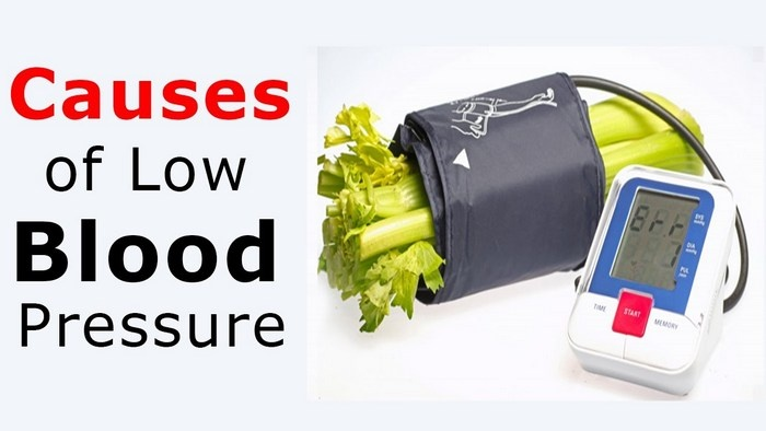 what causes low blood pressure