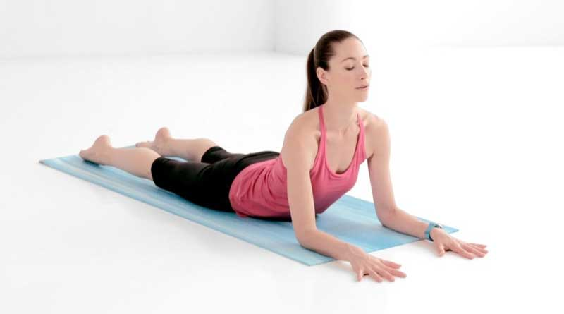 yoga for back pain-sphinx pose