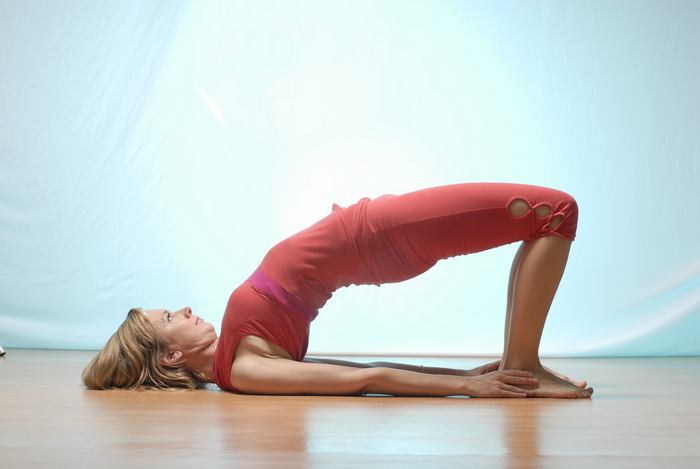 yoga for back pain-the bridge pose